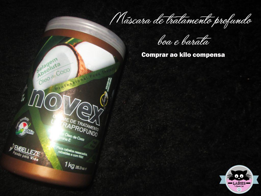 mascara novex- oleo de coco